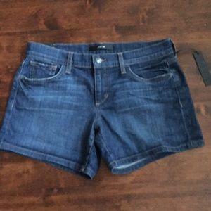 NWT Joe's Jeans denim shorts